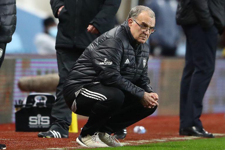 """Bielsa. El """"miedo"""" que motivó el cambio en Leeds a los 20 minutos de juego"""