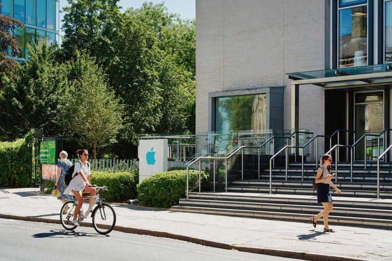 Una de las oficinas que tiene Apple en Cambridge