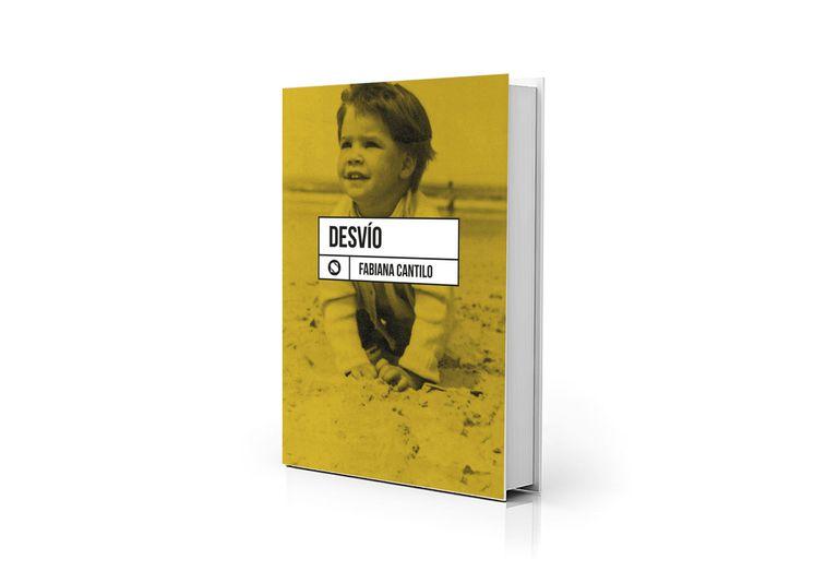 """Portada de """"Desvío"""", primer libro de poemas de Fabiana Cantilo"""