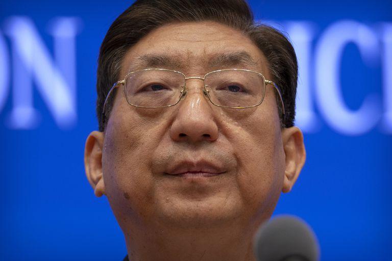 Zeng Yixin, viceministro de la Comisión Nacional de Salud de China