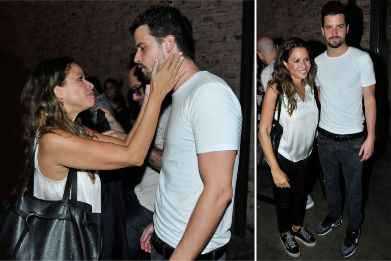 En fotos: la noche de amor de Julieta Ortega con su novio, Camilo Vaca Narvaja