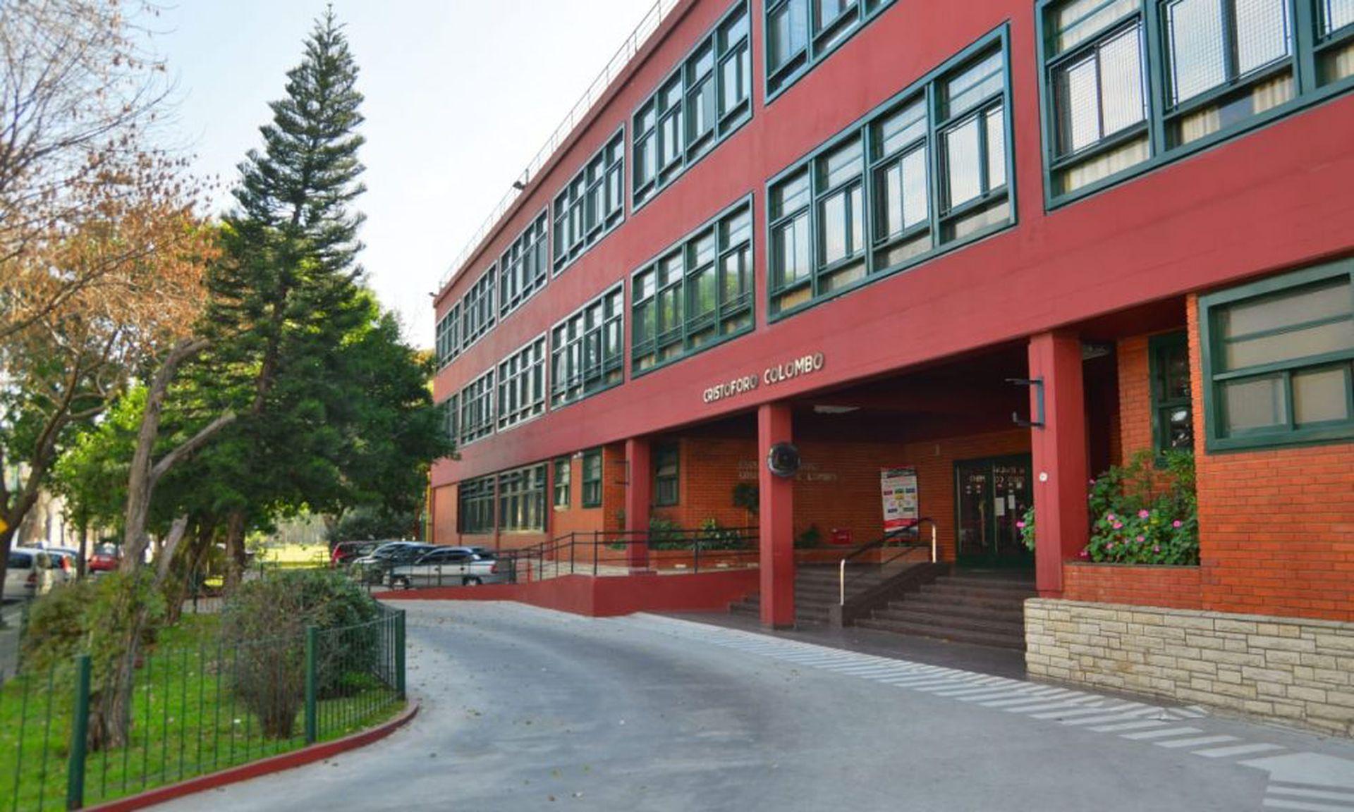 El colegio Cristoforo Colombo dicta un 50% de clases en italiano y otro 50% en español, más inglés