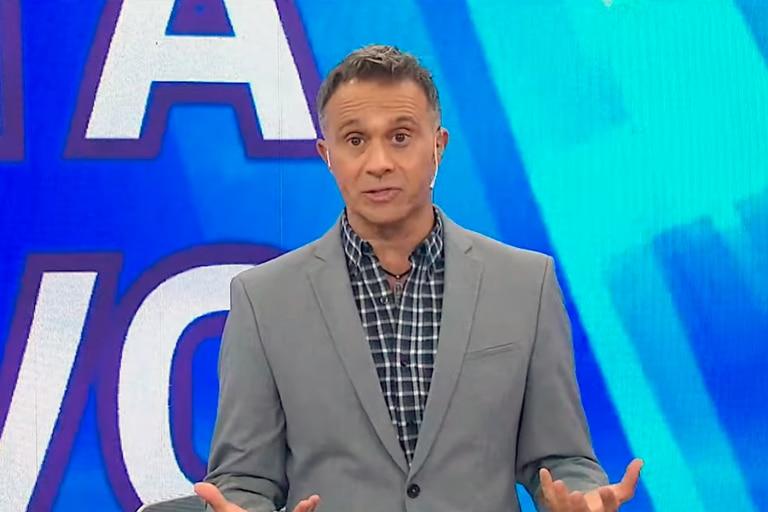 Sergio Lapegüe retomó la conducción de Noti Trece (El Trece) el jueves pasado y este martes volvió a hablar de cómo transitó el coronavirus