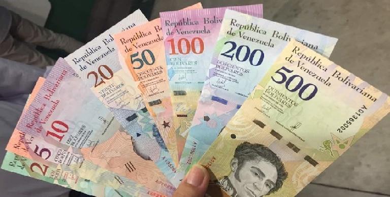 La depreciada moneda venezolana