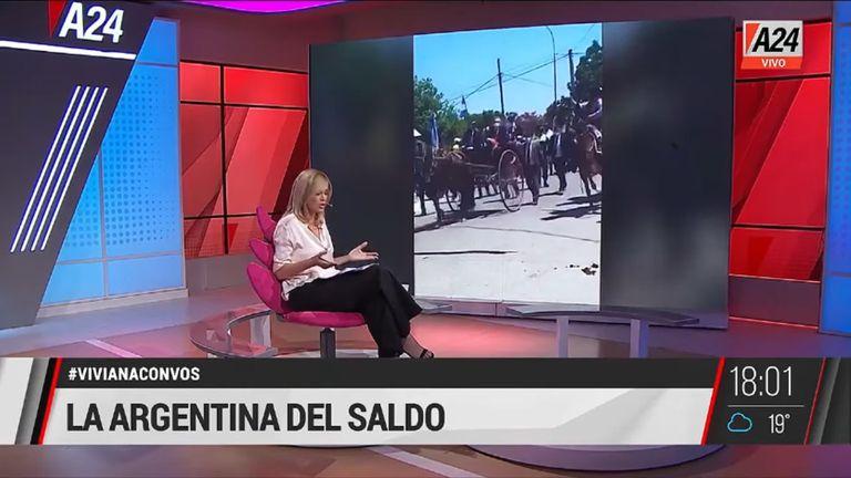 """Viviana Canosa dijo que la imagen de Alberto Fernández """"está más devaluada que el peso"""""""