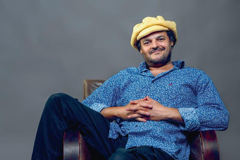 El compositor y multiinstrumentista Carlos Aguirre