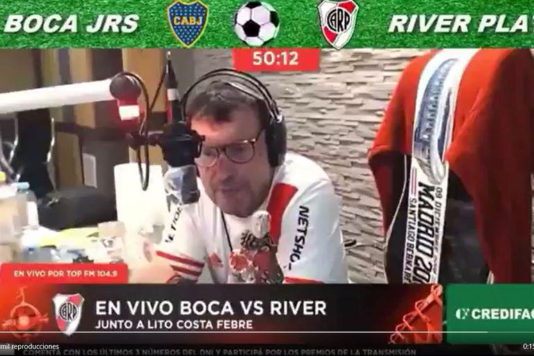 Atilio Costa Febre se disculpó por sus dichos sobre un jugador de Boca