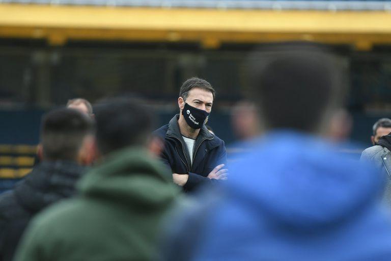 """Rosario Central. La particular presentación del """"Kily"""" González como entrenador"""