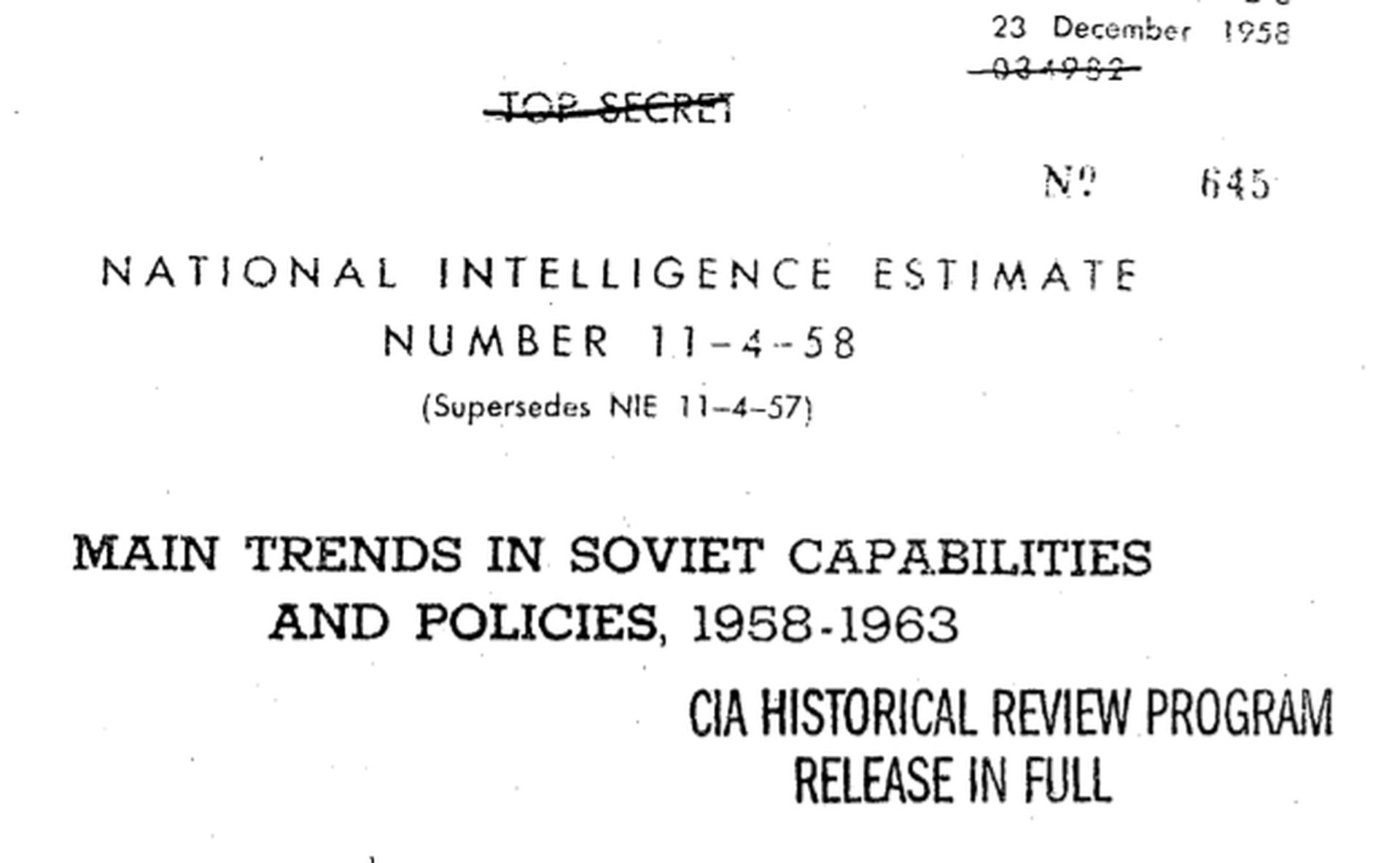 Documentos CIA