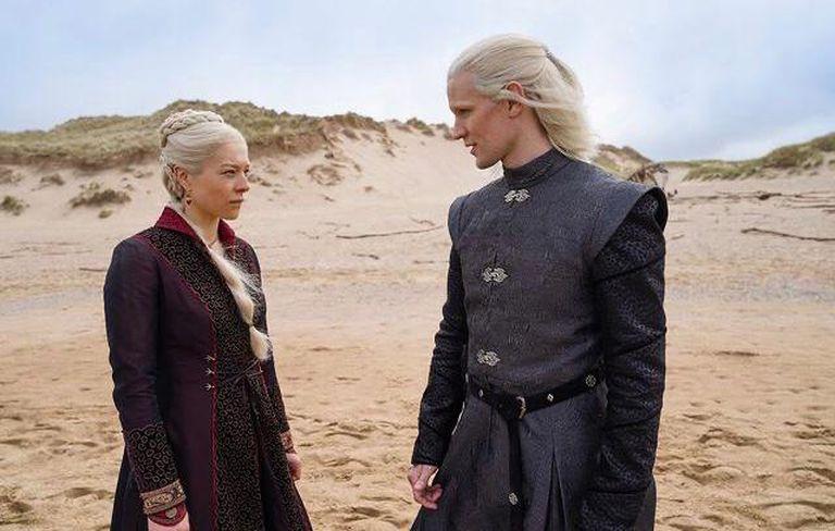 House of the dragon: las primeras imágenes de la precuela de Game of Thrones