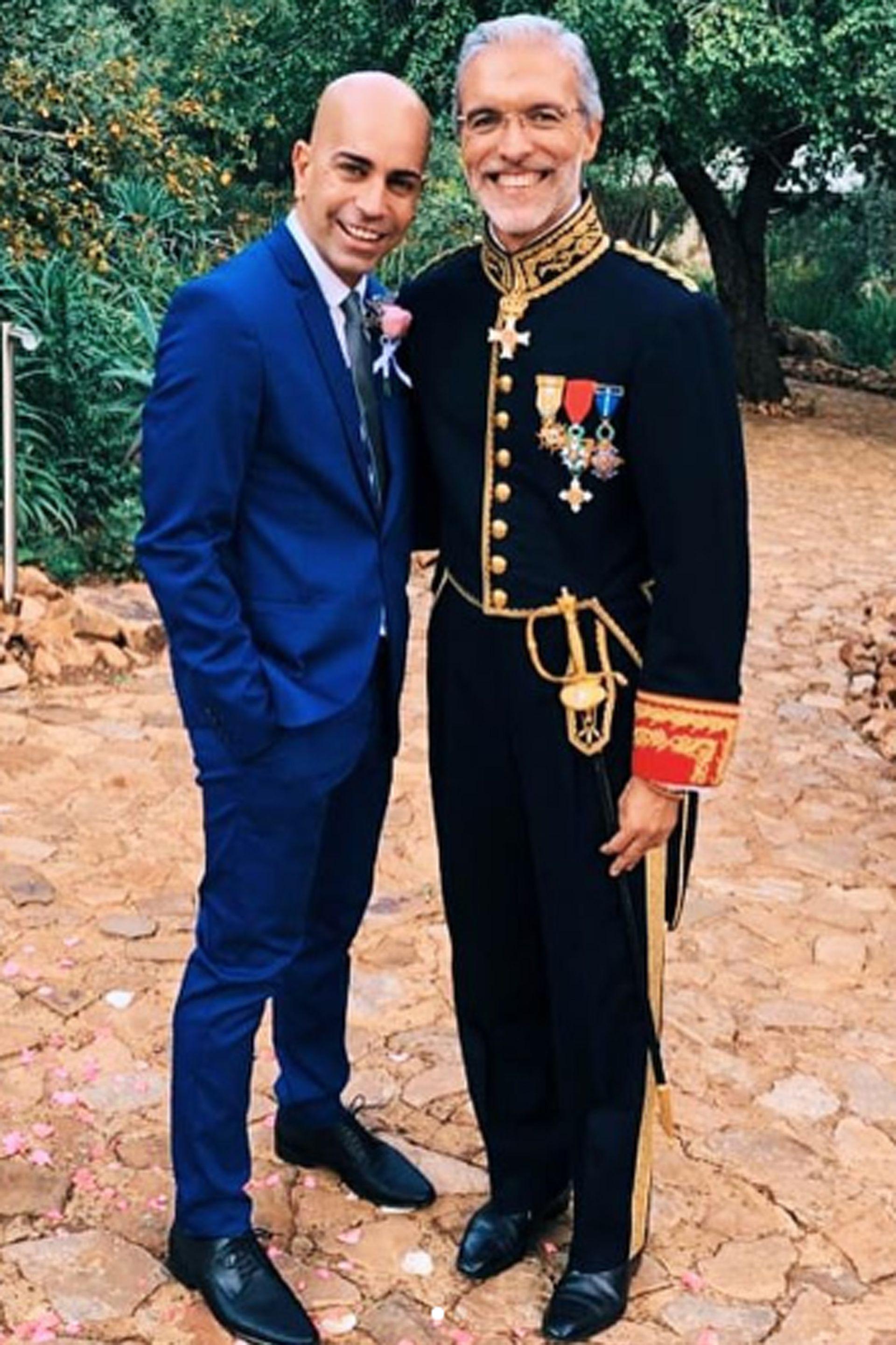 Charly San Martín está comprometido con Jorge Noval Álvarez, y debido a la pandemia de coronavirus tuvieron que posponer su fiesta de casamiento