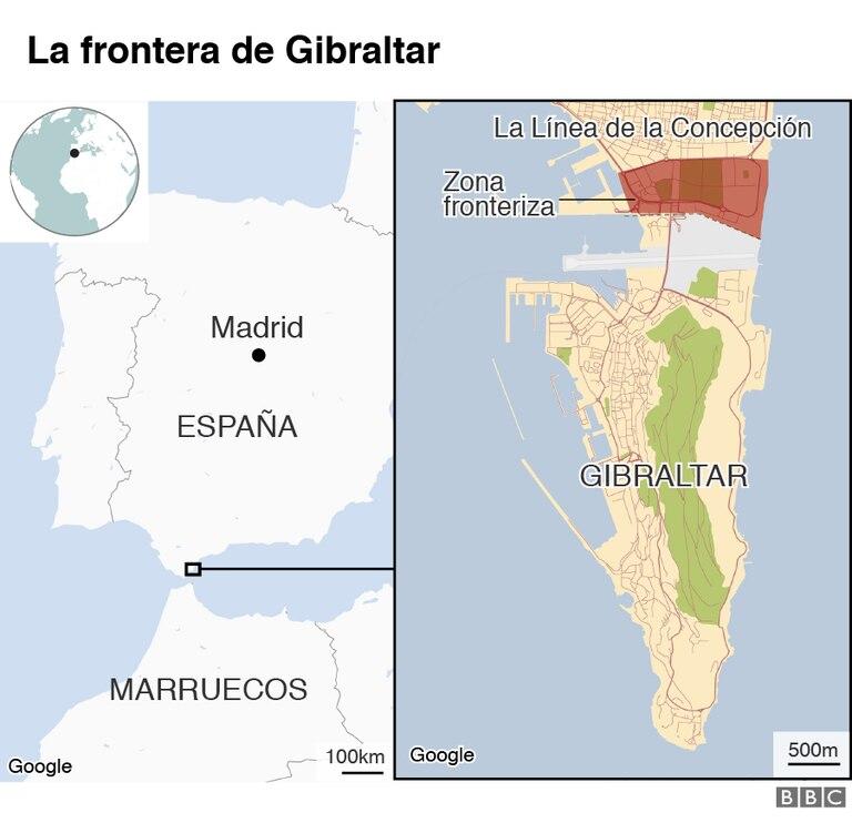 Dónde queda Gibraltar