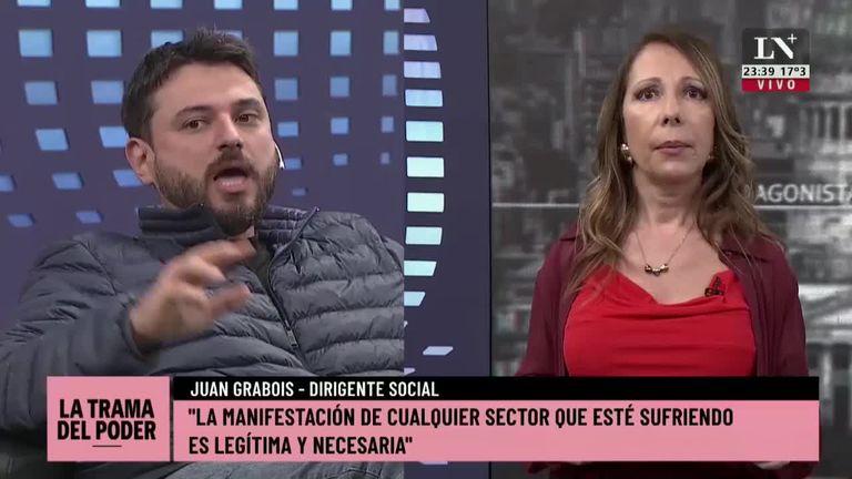 """Juan Grabois: """"No conozco ningún dirigente social rico"""""""