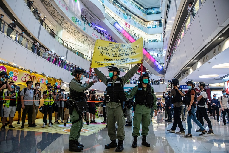 Hong Kong, el nuevo campo de batalla de las grandes empresas tecnológicas