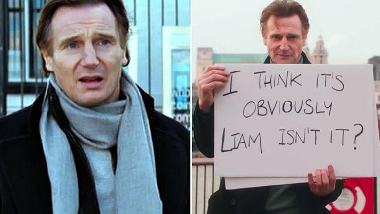 Liam Neeson, antes y ahora