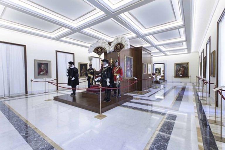 Otra de las salas de los Museos Vaticanos que reabrieron sus puertas al público después de un cierre de casi tres meses