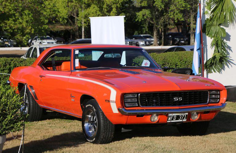 Este Chevrolet Camaro SS de 1969, de Luis Zschocke, fue votado como el Mejor Americano Contemporáneo