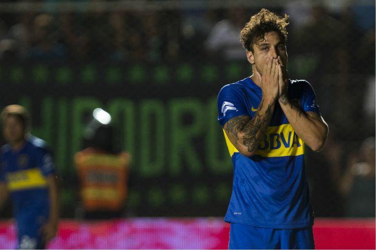 El último partido profesional de Daniel Osvaldo fue en Boca el 12 de mayo de 2016