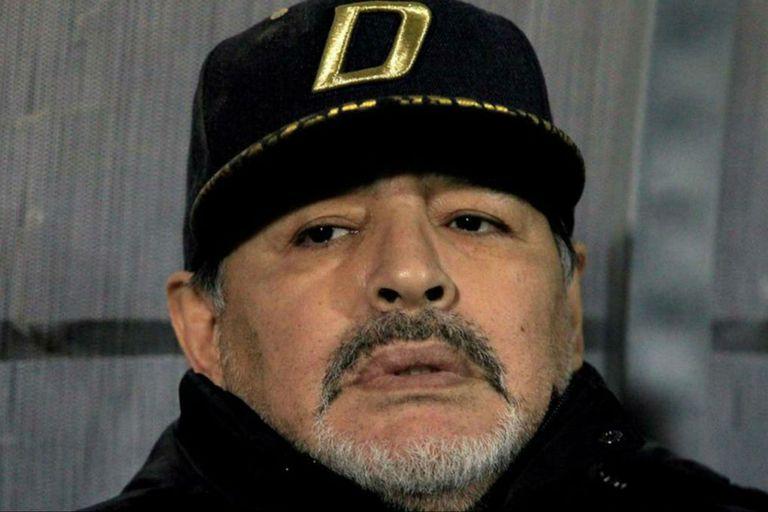 El astro del fútbol será abuelo de una nena, hija de Diego Maradona Jr. y Nunzia Pennino