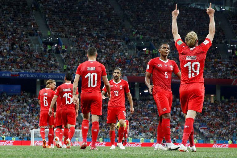 Costa Rica-Suiza: con un empate, los europeos se aseguraron un lugar en octavos