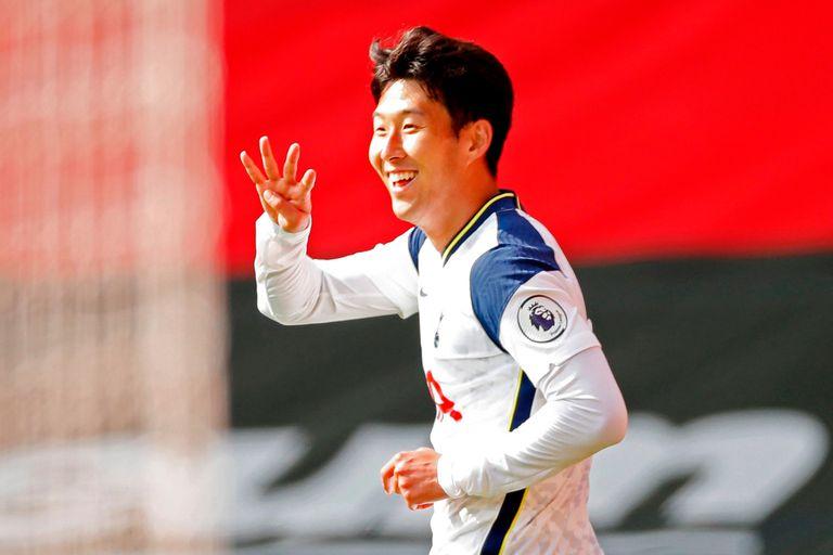 Espectacular: los cuatro goles de Son y la perlita de Mou en el 5-2 de Tottenham