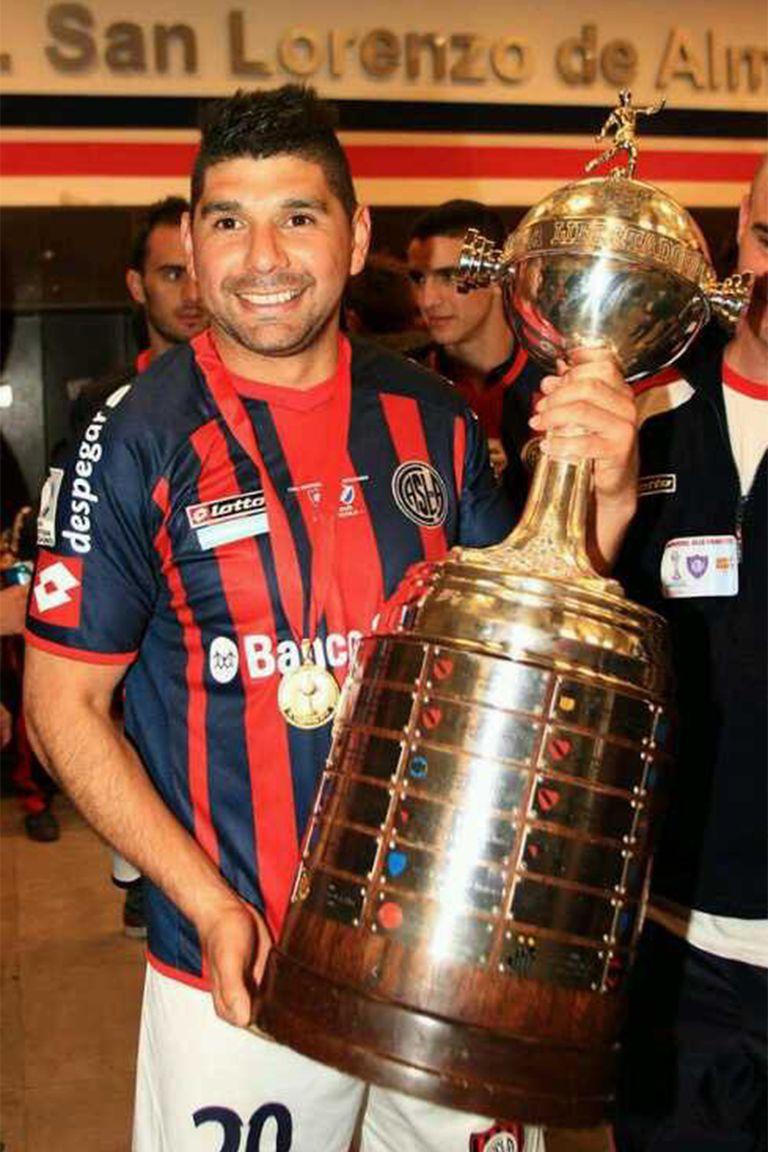 """Debo de pesar tres o cuatro kilos menos que en San Lorenzo"", estima Ortigoza, campeón de la Copa Libertadores en 2014."
