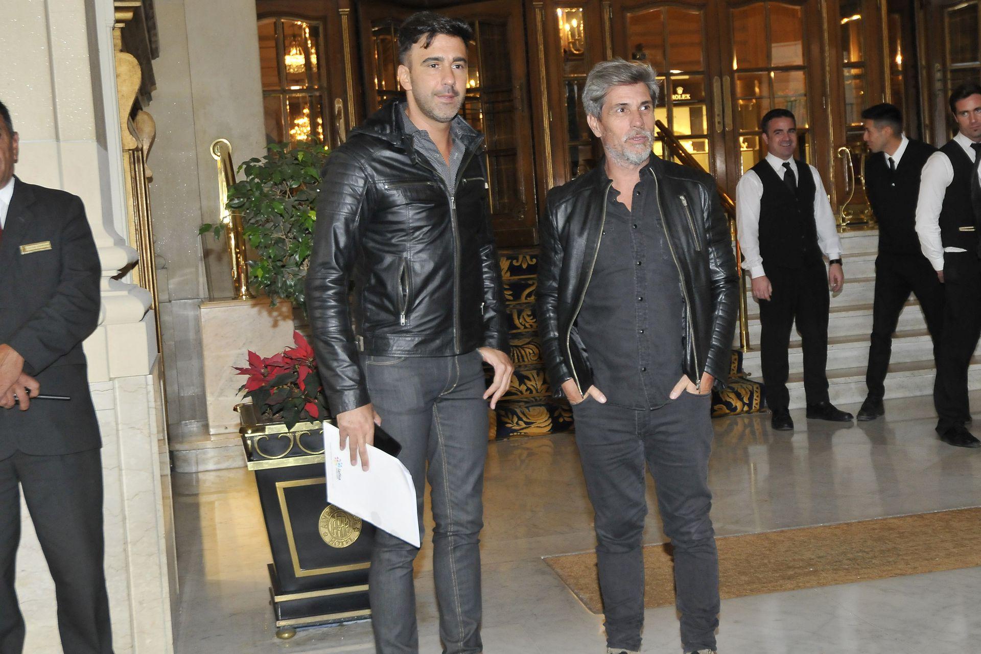 Federico Hoppe y El Chato Prada, históricos productores de ShowMatch
