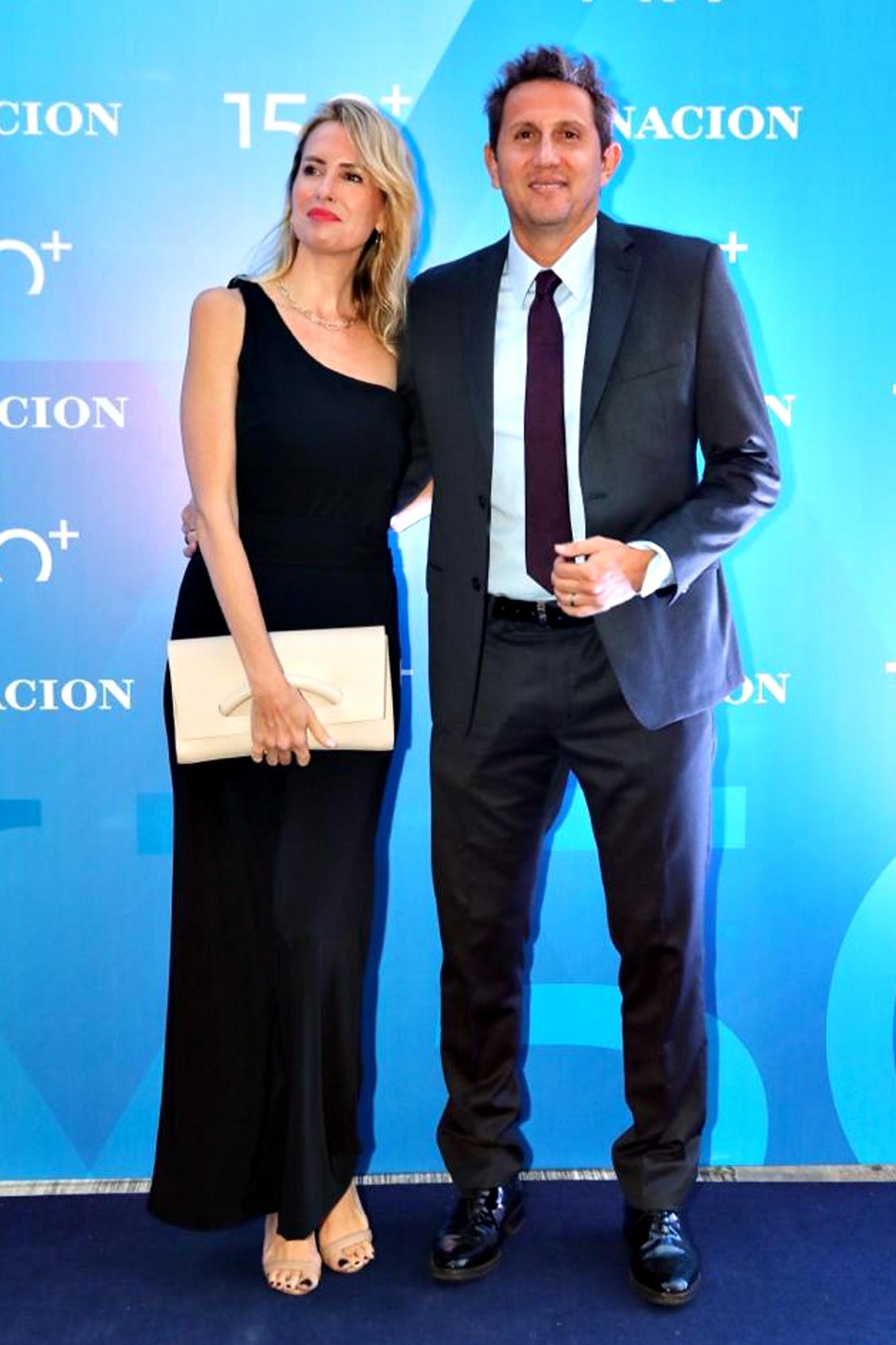 El periodista Juan Pablo Varsky y su esposa, Lala Bruzoni
