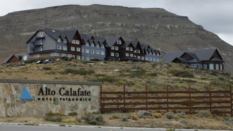 El hotel Alto Calafate, unas de las propiedades que volverán a ser administradas por los Kirchner