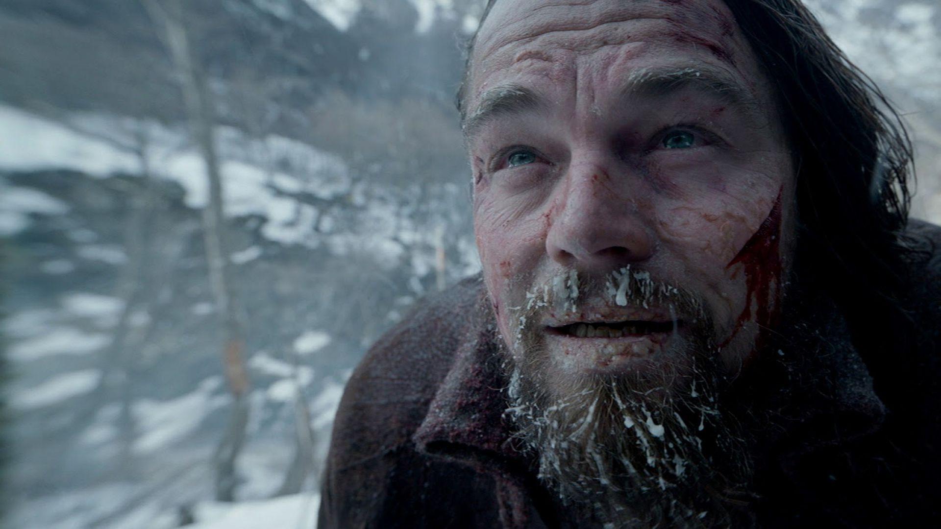 Leo DiCaprio en la escena final  de El Renacido que se filmó en las afueras de Ushuaia.
