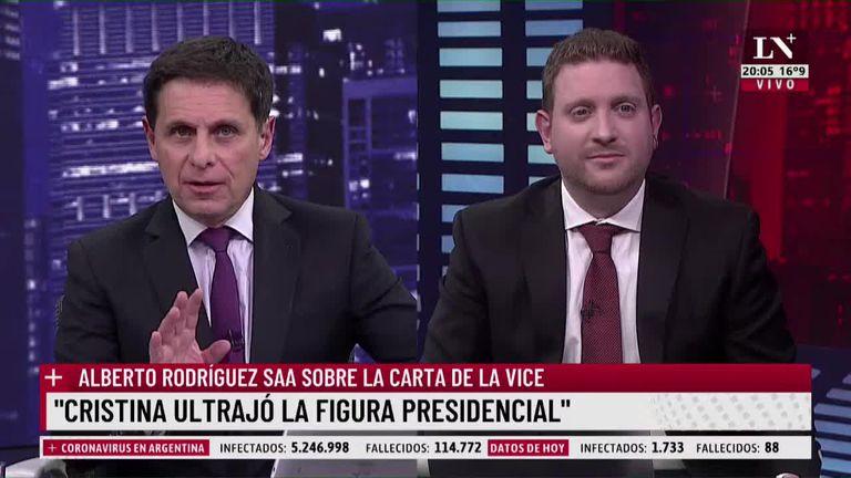"""Carnota y Jony Viale analizaron el currículum de Cafiero: """"Boudou en la cárcel hizo más cursos"""""""
