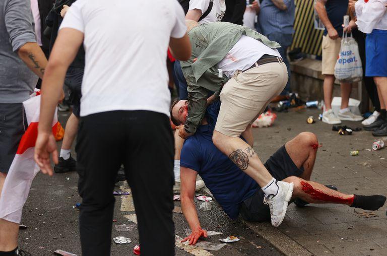 Los incidentes antes de la gran final entre Inglaterra e Italia por la Eurocopa