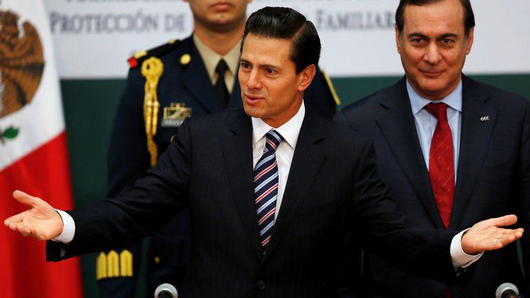 Enrique Peña Nieto retruca a Donald Trump por el muro