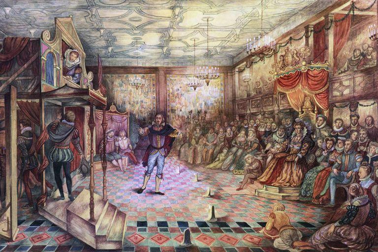 Una representación de Enrique VIII