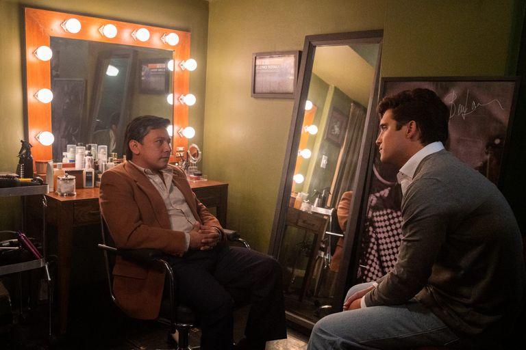 En Luis Miguel, la serie, Armando Manzanero es interpretado por el actor Pierre David