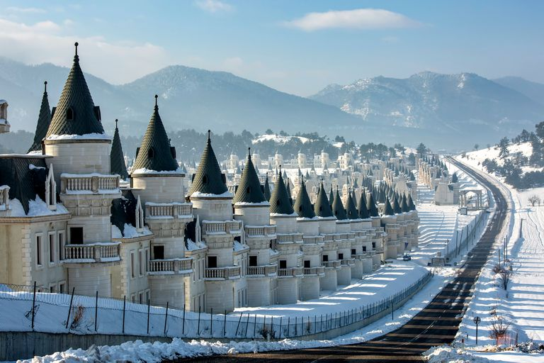 Turquía: el futuro incierto de un emprendimiento de mini castillos