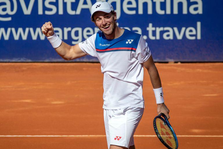 Casper Ruud, nuevo campeón del ATP de Buenos Aires