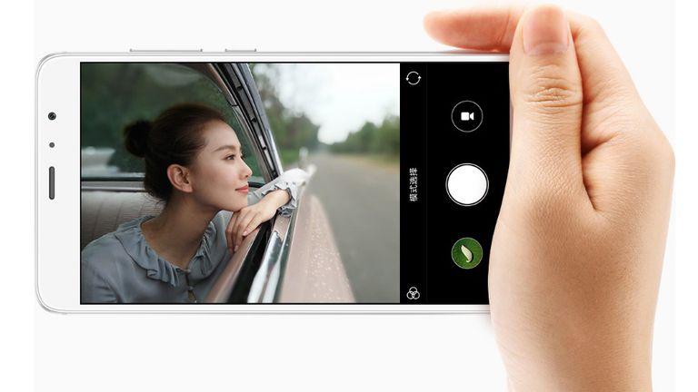 Un ejemplo del juego entre el foco y el fondo en el  Xiaomi Redmi Pro