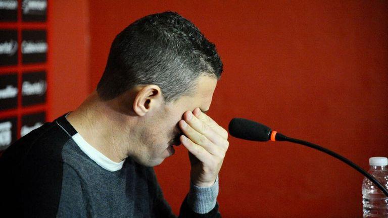 Maxi Rodriguez su despedida de Newell's