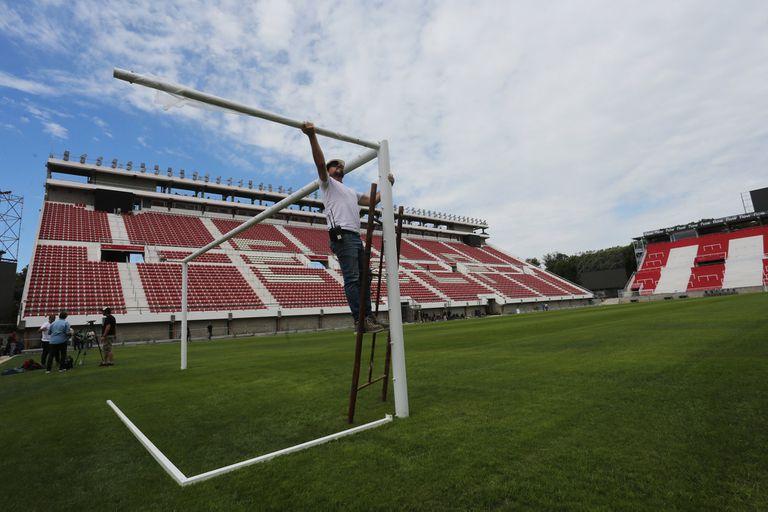 Estudiantes vuelve a su casa: un viaje al corazón del nuevo estadio de 1 y 57