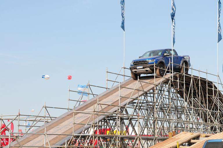Ford exhibió en Expoagro 2020 el line up más completo de camionetas.