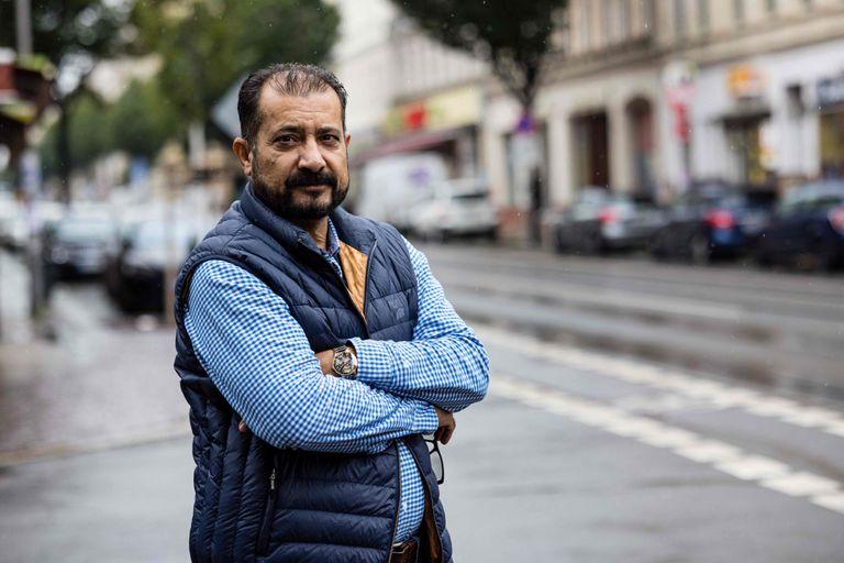 Sayed Sadaat en su nueva vida en Alemania