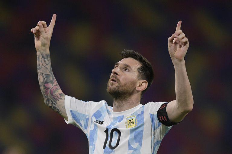 El posteo de Lionel Messi por un nuevo récord en la selección