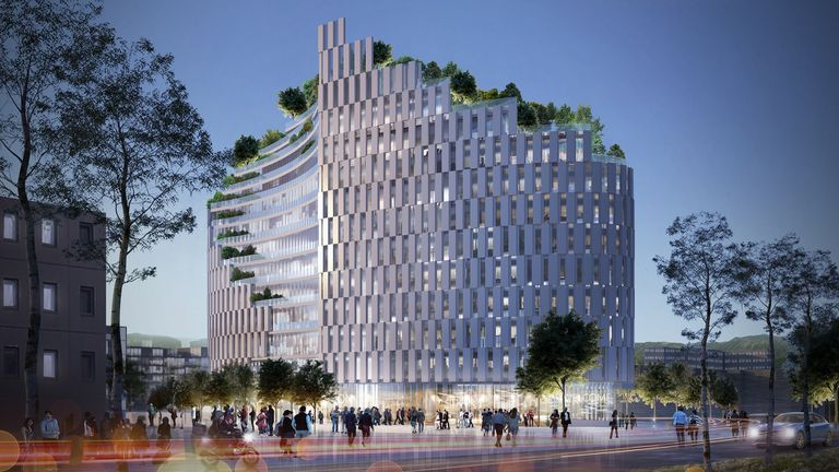 Edificio MET, obra del italiano Mario Cucinella