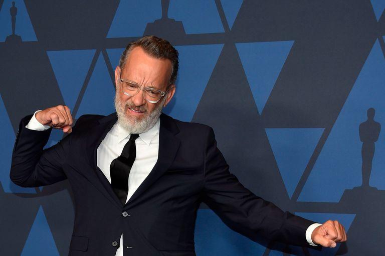 Tom Hanks fue el encargado de entregarle el premio a Geena Davis