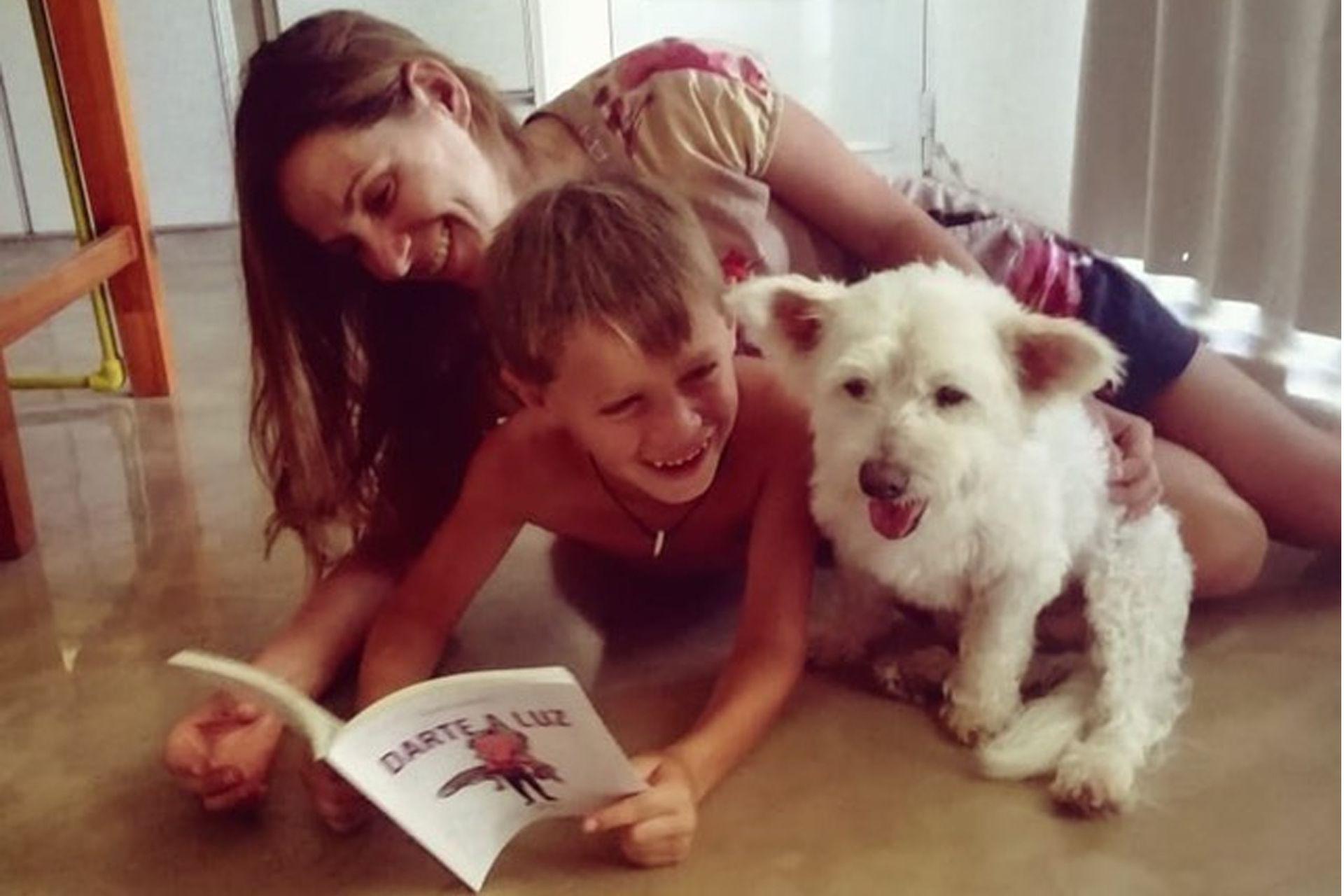 Lila, antes Estrellita, disfruta de la vida junto a su nueva familia.