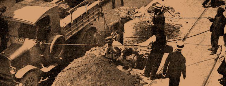 Boqueteros: hace 95 años, una audaz obra de ingeniería, un plan fallido