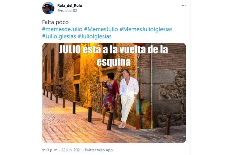 Julio Iglesias vuele a ser el protagonista de los memes en 2021
