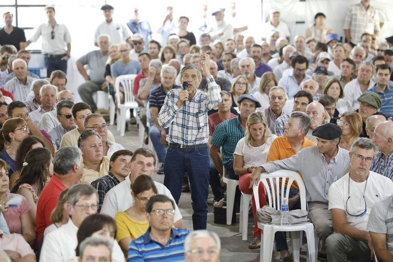 La asamblea de Pergamino fue una catarsis pública del clima entre los productores