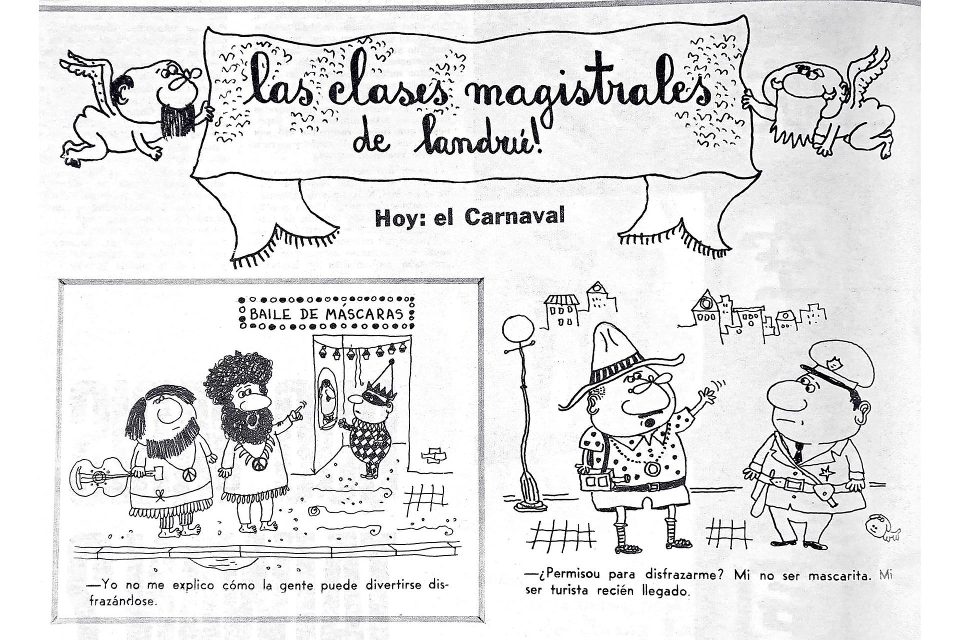 Las clases magistrales de Landrú, 1972